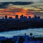 Sunset Overlooking Downtown Ft Lauderdale (As Published in Sun-Sentinel Newspaper 1-5-2014)