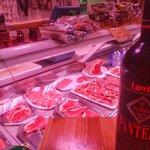 Il vino e la carne...tutto in rosso