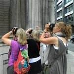 Ladies practicing our new photography skills!