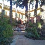jardín árabe habitaciones
