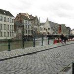 a LEI, waterside in Gent