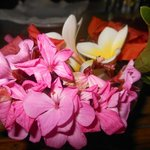 Decorazioni Floreali sui tavoli