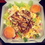 Salad from Cafe Du Quai
