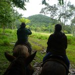 Horse-back riding with Jo