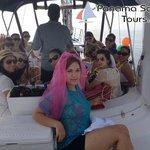 Bachelorette party onboard