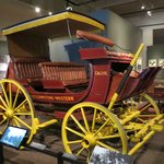 Stagecoach in the Yellowstone room