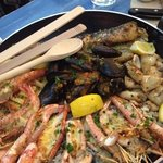 The famous Seafood Platter