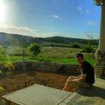 View from the corner veranda
