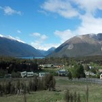 The village or St Arnaud gateway to Lake Rotoiti and the Nelson Lakes National Park