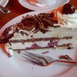 Black Forest cherry cake is always great!