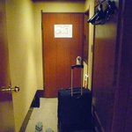 Room entrance view from inside