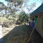 lateral da cabana