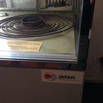 展示ケースは日本のODA