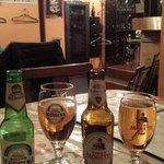ビールで乾杯♡