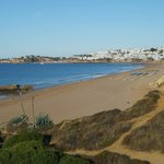 Beach behind hotel You can walk to Albufeira centre