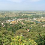 view of battambang from phnom sampeau summit