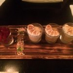 Three flavours of the Amazon mousse