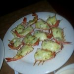 the most delicious butterfly shrimp in white sauce