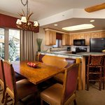 Two Bedroom Villa Kitchen Dining