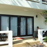 our room with it's veranda