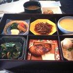 ホライゾン・クラブ・ラウンジでの朝食、和朝食のセット