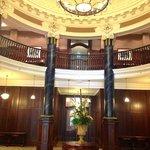 lobby to the ballroom