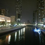 Al Qasba Canal, Sharja, Fish Corner R on the left