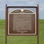 Whitestone Battlefield Interpretative Sign - Dickey County, North Dakota