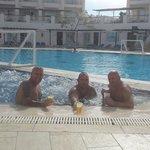 The three amigos. ...