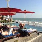 A great beachfront location