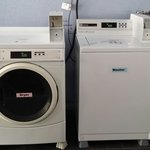 DIY washer and dryer available at only 5.00 per load.