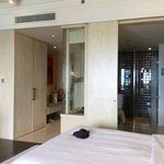 Deluxe room with spacious wardrobe area