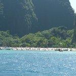 Maya Beach à Phi Phi Island.