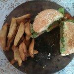Summer Mango Chicken Burger - SOOOOO Delicous
