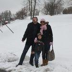 Santa nevada