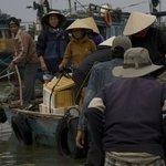 Boat skirmish