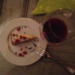 Wine and Delicious Dessert