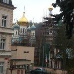 Aussicht auf die Russisch Ortodoxe Kirche