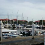 The marina jetty