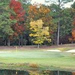 The Inn at Houndslake - Fall view of 8th Hole Golf course