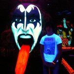 our son Brad, who is a big fan of Kiss