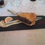 Dessert (frangipane) menu 24 Euro