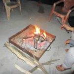 Campfire at Jamwal Villa