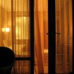 Вид с балкона в номер