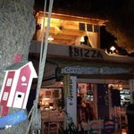 Ibizza at night