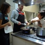 A hands-on and knowledgeable joyful Taiwanese/Chinese cooking class.