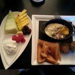 Breakfast by Chef Josh. Delicious!