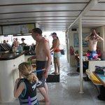 main deck/bar area