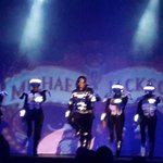 En el show de Michael Jackson