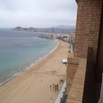 view to Poniente from 22nd floor